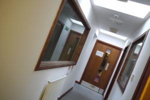 Before Lab Corridor