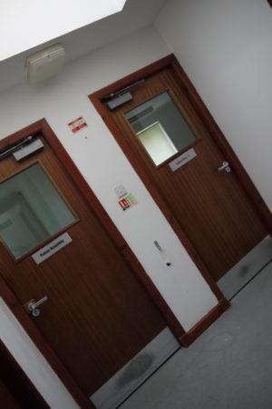 Before Lab Doors