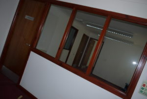 Before Office Entrance
